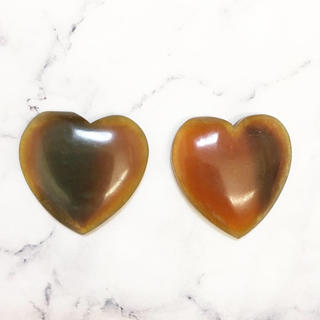 アッシュペーフランス(H.P.FRANCE)のVintage * caramel heart pierce/earring(その他)