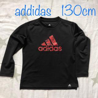 アディダス(adidas)の【USED】130cm addidas 長袖トレーニングウェア(Tシャツ/カットソー)