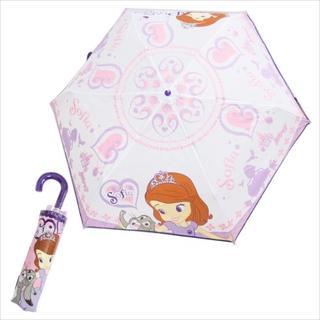 ディズニー(Disney)の◎新品◎ちいさなプリンセスソフィア 折り畳み傘 折りたたみ(傘)