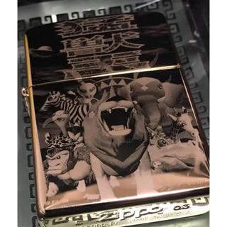 ジッポー(ZIPPO)のパチスロ 猛獣王 プレミアム 純金箔ZIPPO シリアルナンバー入り(タバコグッズ)