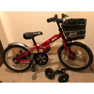 ジープ(Jeep)の☆美品☆ Jeep 16インチ キッズ自転車(自転車)