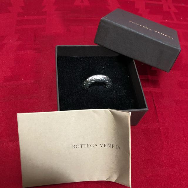 Bottega Veneta(ボッテガヴェネタ)のシルバー925 ボッテガヴェネタ イントレ リング 正規品 レディースのアクセサリー(リング(指輪))の商品写真