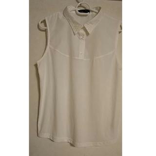 シマムラ(しまむら)の重ね着専用タンクトップ M 白 しまむら商品 タグ付き(タンクトップ)