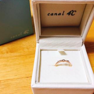 カナルヨンドシー(canal4℃)のcanal4°C ピンキーリング(リング(指輪))