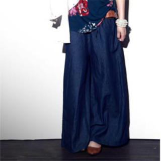 アンティカ(antiqua)の♡アンティカ ♡薄手デニムスカート(ロングスカート)