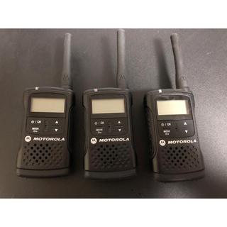 特定小電力トランシーバー(免許登録不要) 型番:CL08 ×3台 (アマチュア無線)