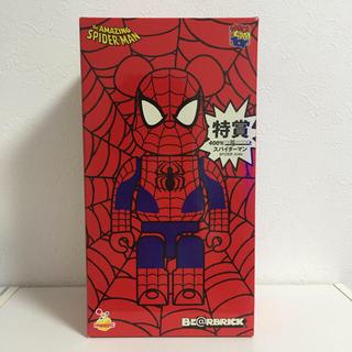 メディコムトイ(MEDICOM TOY)の【nekotaro様】ベアブリック 400 スパイダーマン2点セット(アメコミ)