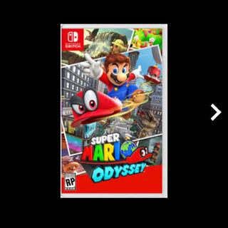 ニンテンドースイッチ(Nintendo Switch)のNintendo Switch マリオオデッセイ(家庭用ゲームソフト)