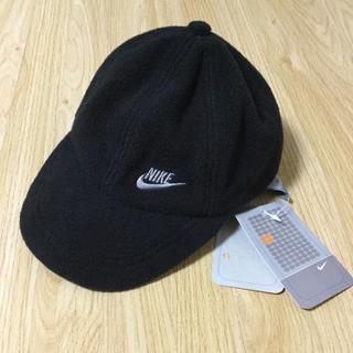ナイキ(NIKE)の新品◼️NIKE ナイキ フリース 帽子 52cm 黒◼️定価3,465円(帽子)