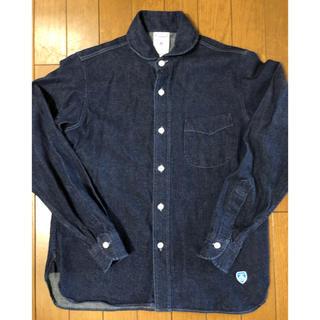オーシバル(ORCIVAL)の中古 オーチバル 丸襟 デニムシャツ サイズ1(シャツ/ブラウス(長袖/七分))