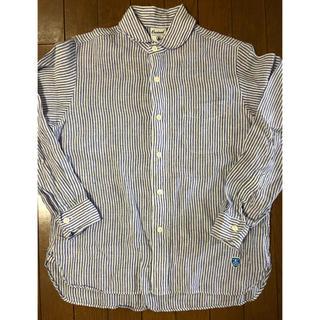 オーシバル(ORCIVAL)の中古 オーチバル リネン ストライプシャツ サイズ1(シャツ/ブラウス(長袖/七分))