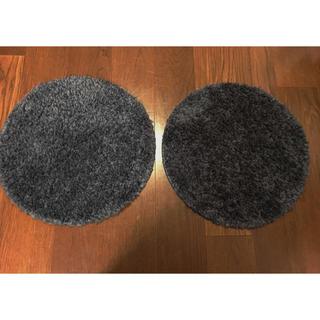 ムジルシリョウヒン(MUJI (無印良品))の無印良品 円形パイルマット ラグマット フランフラン ニトリ(ラグ)