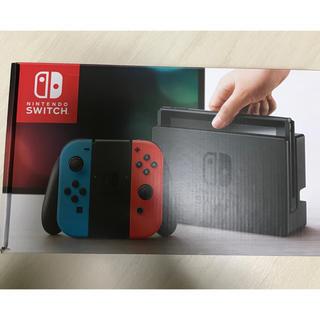 ニンテンドースイッチ(Nintendo Switch)の任天堂 Switch スイッチ 本体 (家庭用ゲーム本体)