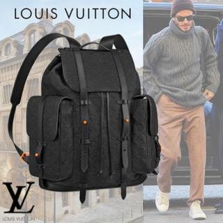 ルイヴィトン(LOUIS VUITTON)の超レア ヴァージル バックパック リュック ブラック&オレンジ(バッグパック/リュック)
