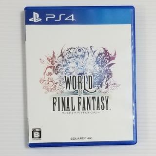 プレイステーション4(PlayStation4)のPS4ソフト  ワールドオブファイナルファンタジー(家庭用ゲームソフト)