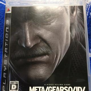 プレイステーション3(PlayStation3)のPS3 メタルギアソリッド4(家庭用ゲームソフト)