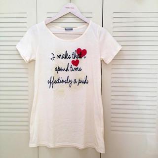 ロングTシャツ(Tシャツ(半袖/袖なし))