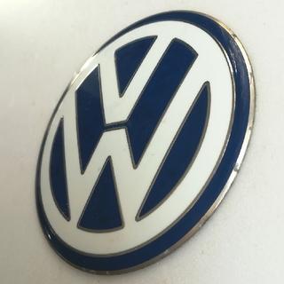 フォルクスワーゲン(Volkswagen)のフォルクスワーゲン純正ホイールキャップ用エンブレム(車外アクセサリ)