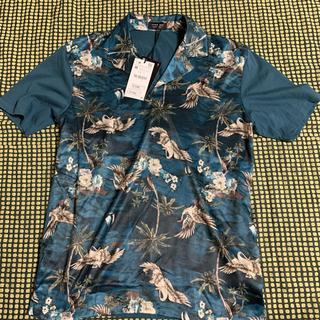 ザラ(ZARA)のお値下げ!ZARA MAN 新品タグ付き  お洒落なトップス(Tシャツ/カットソー(半袖/袖なし))