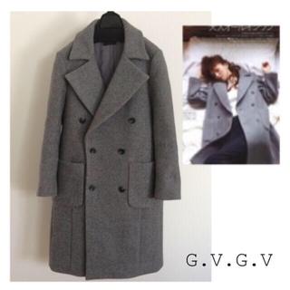ジーヴィジーヴィ(G.V.G.V.)の☆専用☆g.v.g.v. グレー チェスターコート(チェスターコート)