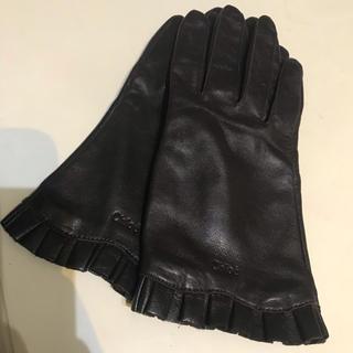 クロエ(Chloe)のクロエ 手袋 フリル レザー(手袋)