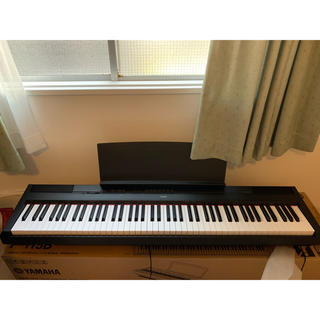 ヤマハ(ヤマハ)の(ずん様 専用 )CASIO 電子ピアノ YAMAHA P-115B(電子ピアノ)