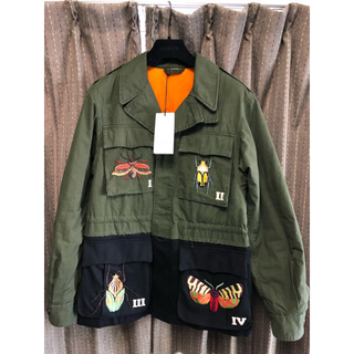07e1765222e7 Gucci - vuivuitton様専用ページドラゴン刺繍ミリタリージャケット 極美 ...