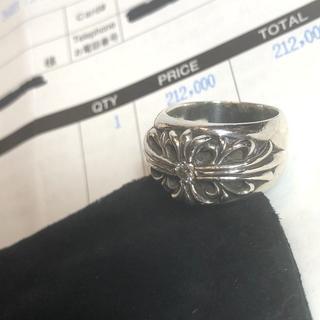 クロムハーツ(Chrome Hearts)の純正ダイヤ◆原本付◆クロムハーツ フローラルクロスリング 指輪 12号(リング(指輪))