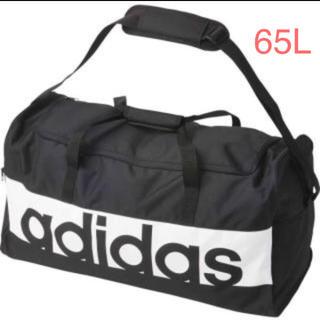 アディダス(adidas)のアディダス リニアロゴチームバッグL  S99964 ブラック(ボストンバッグ)