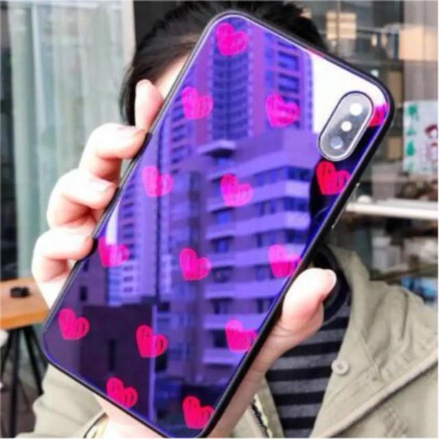 ✨iPhone7 iPhone8 iPhoneX ハート ドット ラブリー ✨の通販 by JYAGAPOTETO|ラクマ