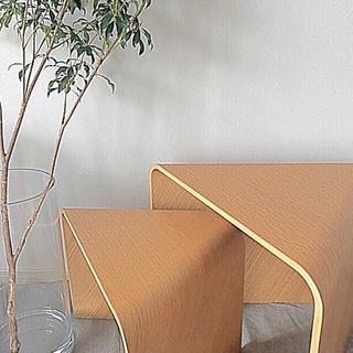 イデー(IDEE)の♯07 サンカクテーブル  オーク材 新品・未使用セット 期間限定発売(コーヒーテーブル/サイドテーブル)