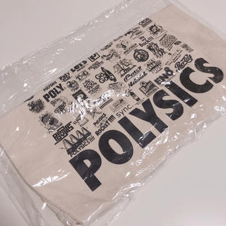 POLYSICS グッズトートバッグ(ミュージシャン)