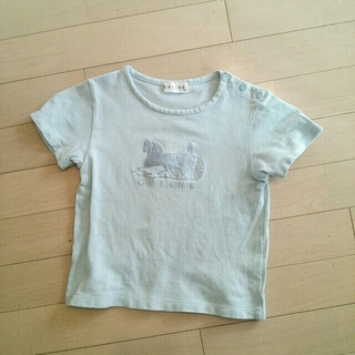 セリーヌ(celine)のセリーヌブルーTシャツ120(その他)
