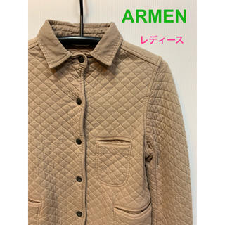 アーメン(ARMEN)のARMEN アーメン キルティングジャケット(その他)