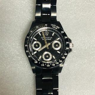 グランドール(GRANDEUR)のGRANDEURグランドール  レディス腕時計  デイト機能(腕時計)