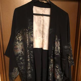 ヨウジヤマモト(Yohji Yamamoto)のキモノモード羽織 金糸刺繍 キモノ×洋服(着物)