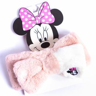 ディズニー(Disney)の即購入OK! ミニー マフラー キッズ ファー 子供 女の子 イヤーマフ(マフラー/ストール)