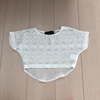 シマムラ(しまむら)の未使用半袖羽織り80(Tシャツ)
