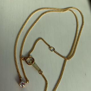 ダイヤモンド ネックレス k18 (ネックレス)