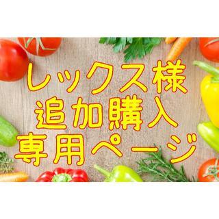 ★レックス様 追加購入専用ページ(野菜)
