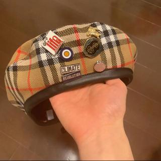 バーバリー(BURBERRY)のvivian westwood Burberry(ハンチング/ベレー帽)