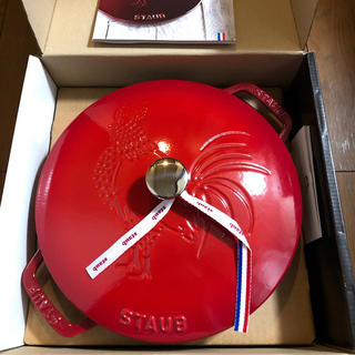 ストウブ(STAUB)のストウブ フレンチ ルースター ココット 24cm 新品(鍋/フライパン)
