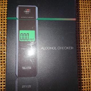 アルコールチェッカー TANITA ALCOHOL CHECKER タニタ