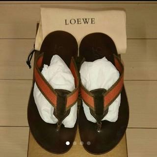 ロエベ(LOEWE)の値下 LOEWE ロエベ ビーチサンダル 40(ビーチサンダル)