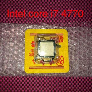 インテレクション(INTELECTION)の[動作未確認品]intel core i7 4770(PCパーツ)