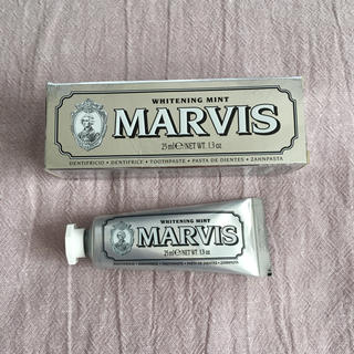 マービス(MARVIS)の新品未使用 MARVIS 歯磨き粉(歯磨き粉)