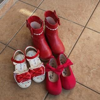シャーリーテンプル(Shirley Temple)のシャーリーテンプル靴3点セット15cm16cm(その他)