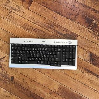 エヌイーシー(NEC)のNECワイヤレスキーボード(PC周辺機器)