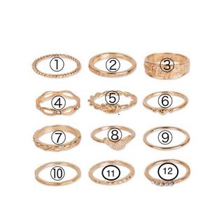デザインリング オシャレ格安(リング(指輪))