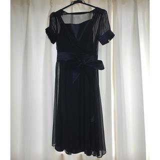 ガリャルダガランテ(GALLARDA GALANTE)のネイビードレス♡(ミディアムドレス)
